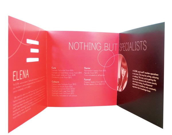 20 stylish examples of salon brochure designs
