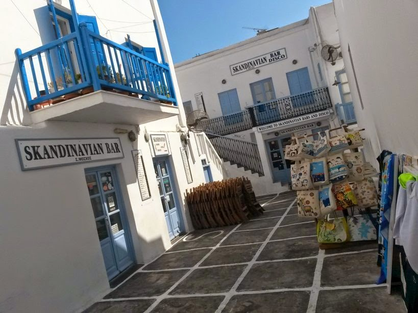 Skandinavian Bar in Mykonos