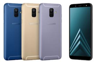 Review dan Spesifikasi Lengkap Samsung Galaxy A6 SM-A600 2018 Indonesia