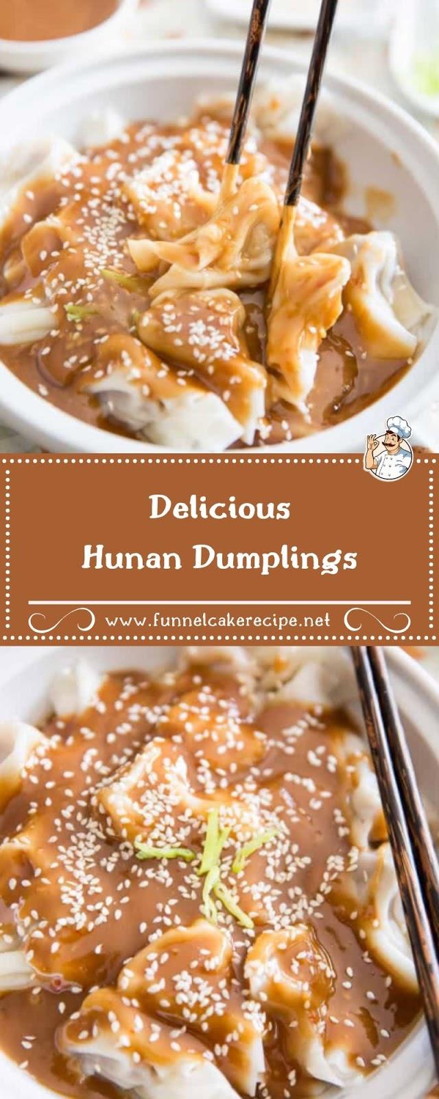 Delicious Hunan Dumplings