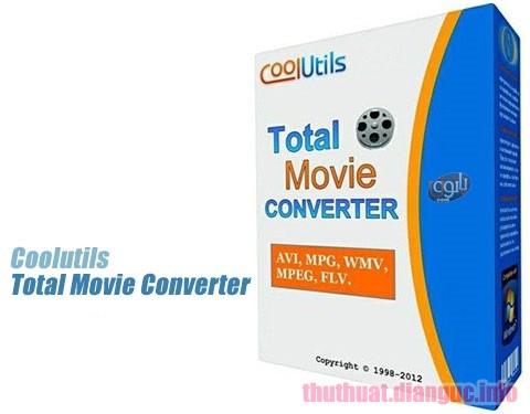Download Coolutils Total Movie Converter 4.1.0.32 Full Crack