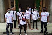Bukan Hanya Pemerintah,  PGK NTB Ikut Semprot Disinfektan Dimasjid.