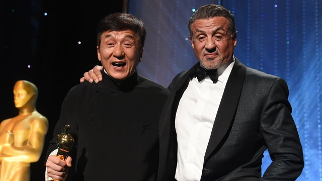 Ex-Baghdad Jackie Chan Sylvester Stallone