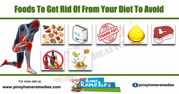 Foods To Get Rid Of From Your Diet To Avoid Inflammation