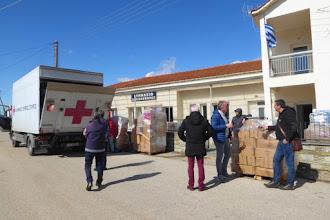Ολοκληρώθηκε σήμερα και το τελευταίο στάδιο συγκέντρωσης και αποστολής   της ανθρωπιστικής βοήθειας προς την Αλβανία