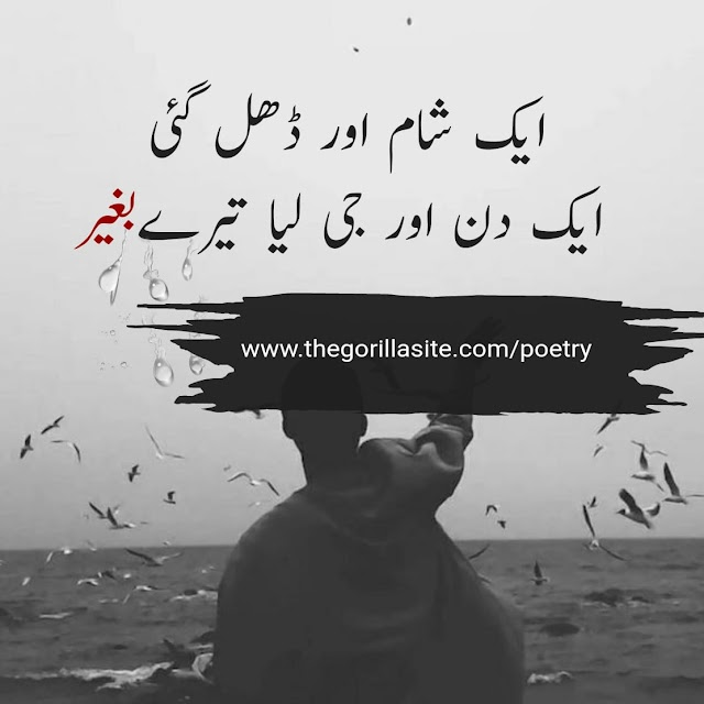 Aik Shaam Or Dhal Gai \ Sad Urdu Hindi Poetry