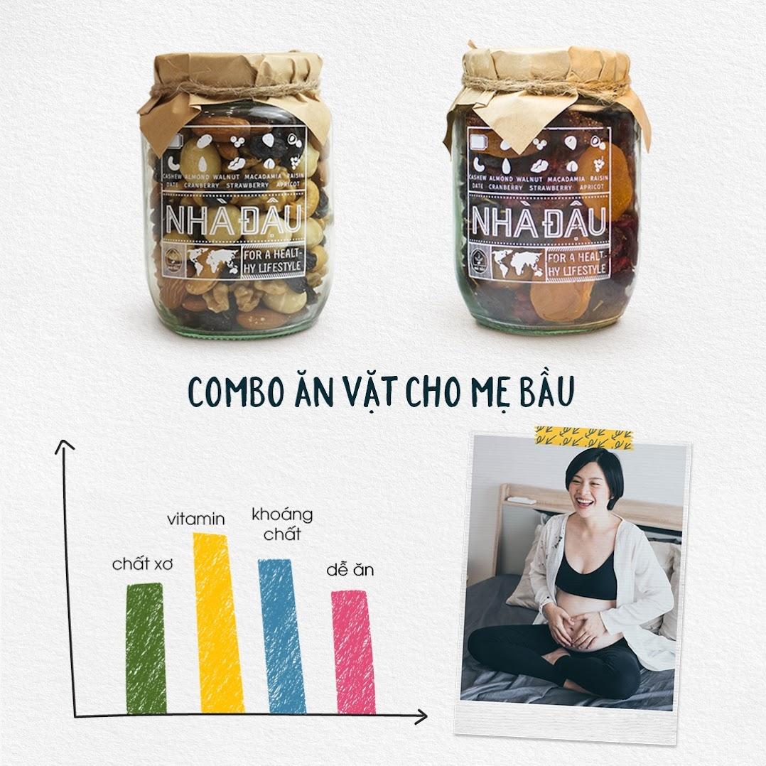 [A36] Bầu công sở truyền tai nhau món ăn vặt dinh dưỡng, Mẹ không lo tăng cân