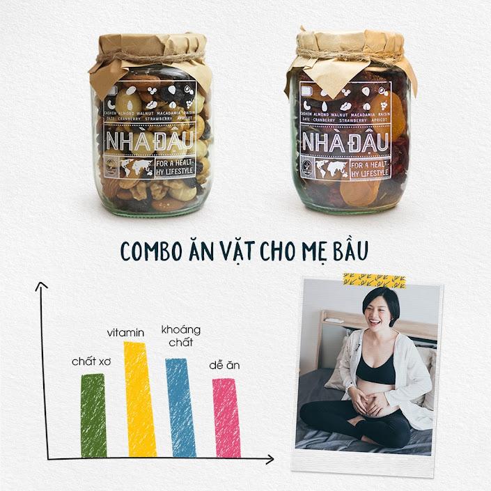[A36] Mixnuts 5 loại hạt bổ dưỡng Mẹ Bầu nên ăn hàng ngày