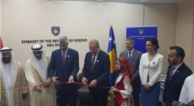 The Kosovo Embassy in the United Arab Emirates