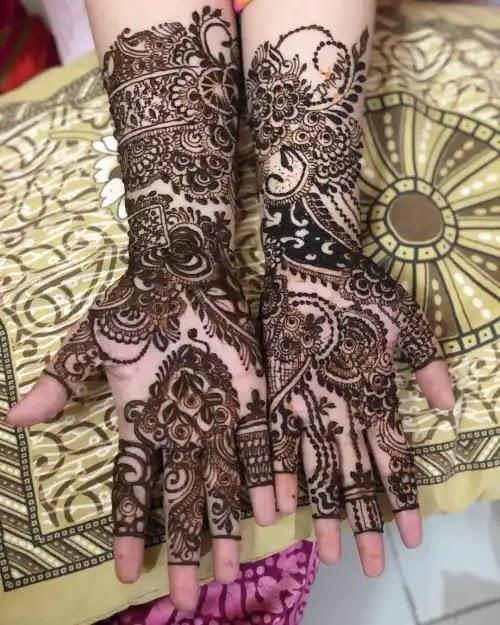 arabic-girls-full-hands-mehndi-design-for-wedding