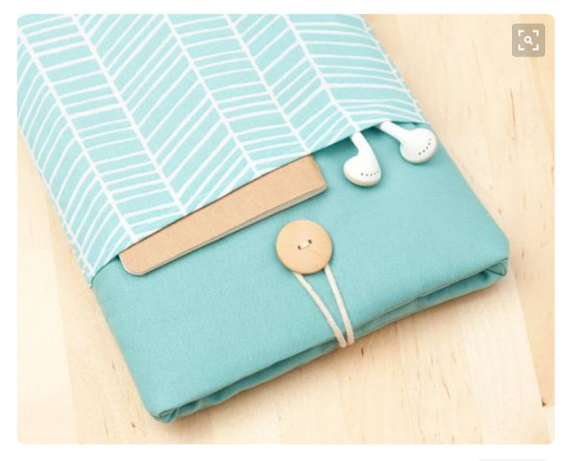 idea de funda de tablet con bolsillo