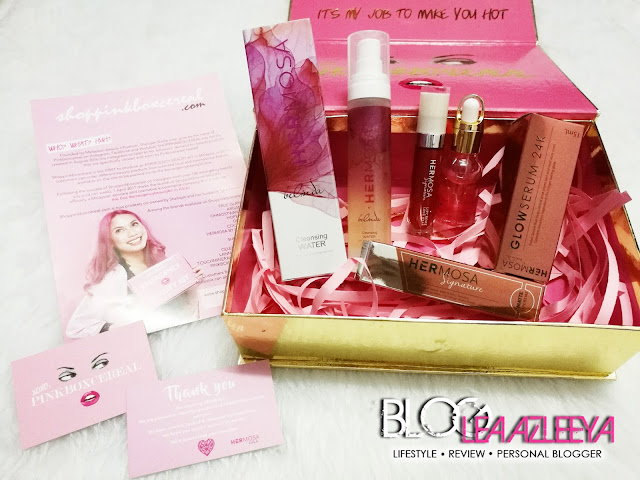 PinkBoxCereal Hermosa Beauty Kit