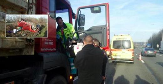Accident sur l'A54 ce samedi matin: deux Samaritains s...