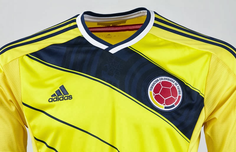 4131d7b63eb Pro Soccer: adidas Presents the Colombian Federation kit for 2014 ...