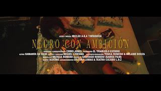 LETRA Negro Con Ambición BY Nucleo aka TintaSucia
