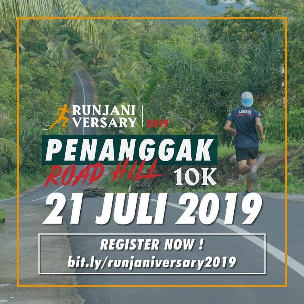 Penanggak Road Hill 10K • 2019