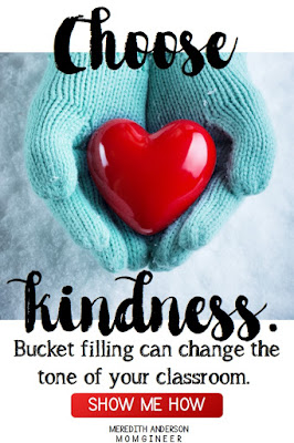 How to get started with bucket filling! Promote kindness, empathy, cooperation, and tolerance with this simple yet powerful concept.   Meredith Anderson - Momgineer