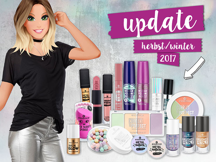 2017, beauty, cosmetics, drogerie, essence, farbtrends, favoriten, herbst / winter 2017, highlights, kollektion, lidschatten, lippenstift, nagellack, neue produkte, neues sortiment, neuheiten, metallic, update,