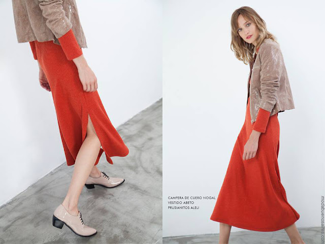 Moda mujer invierno 2017 ropa de moda faldas.