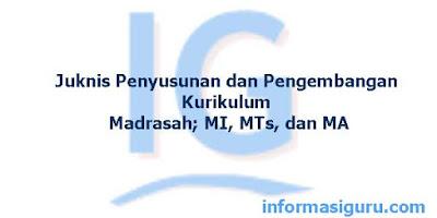 Juknis Penyusunan dan Pengembangan Kurikulum Madrasah; MI, MTs, dan MA Terbaru