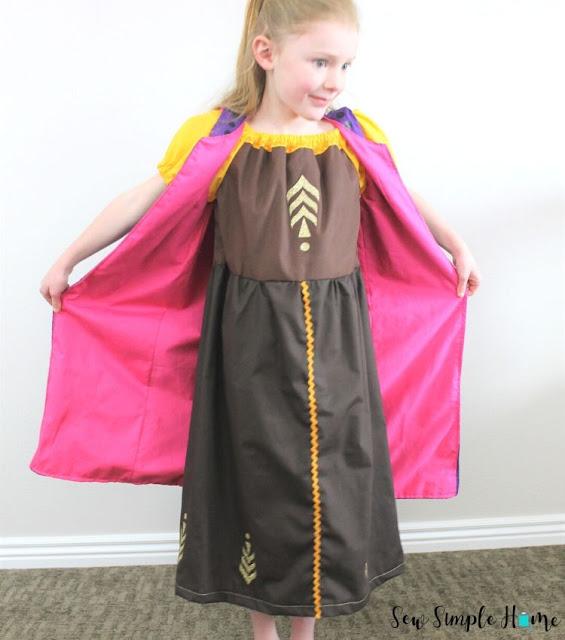 diy anna costume