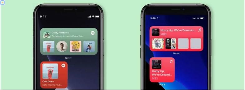 طرح Spotify أداة iOS 14 لتسهيل العودة إلى المسار الأخير