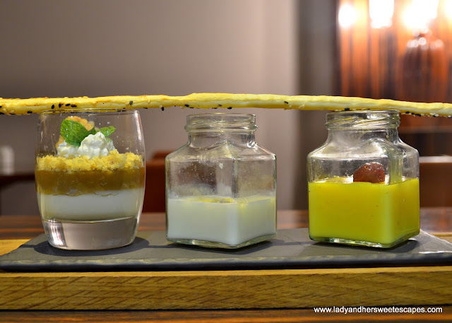 desserts in Centro Al Manhal themed night buffet