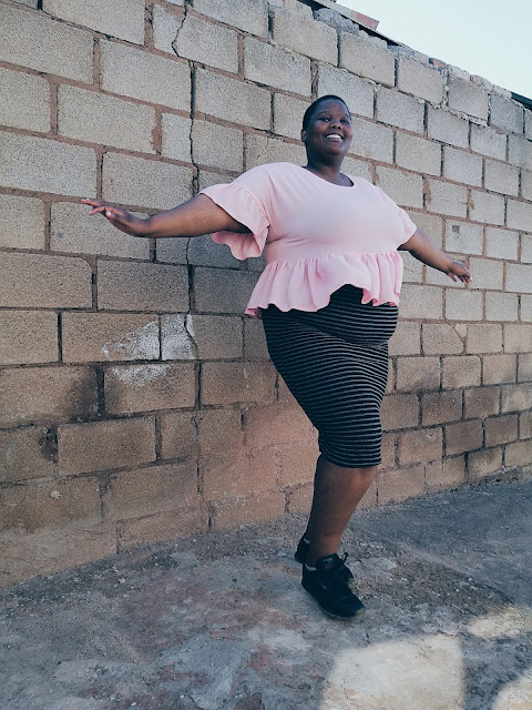 south african plus size blogger, cute plus size outfit
