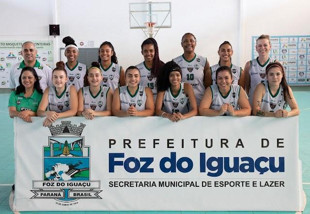 ABASFI Foz Basquete estreia no Brasileirão Feminino nesta segunda-feira (4)