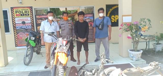 Usai Curi Motor, Randi Terlibat Kasus Pencurian dan Penggelapan Sepeda Motor
