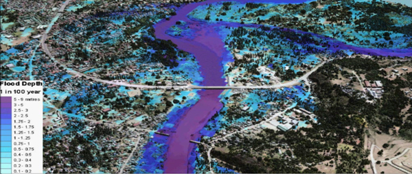 Flood simulation using LiDAR by Project NOAH - Schadow1 Expeditions