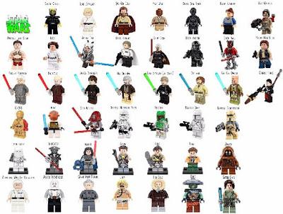 Mejor resultado figuras en miniatura de Lego Star Wars