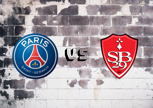 PSG vs Brest  Resumen y Partido Completo