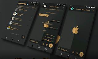 IOS Dark Theme For YOWhatsApp & Fouad WhatsApp