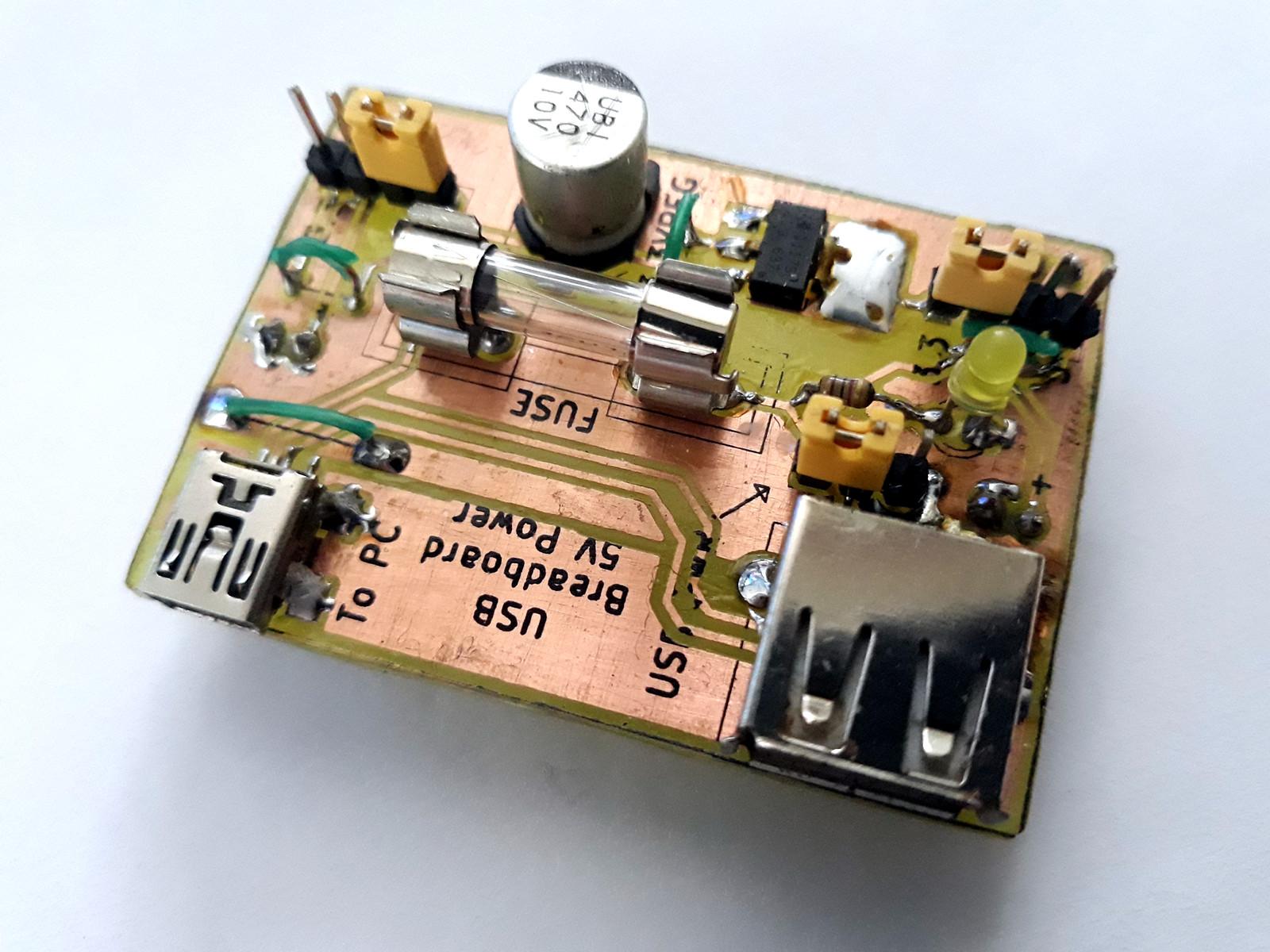 small resolution of usb power supply for breadboard