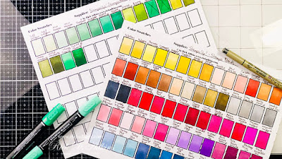 Learn why you want to create a Stampin' Blends Color Swatch Chart plus get my free color chart PDF to make your own.  Click here to learn more