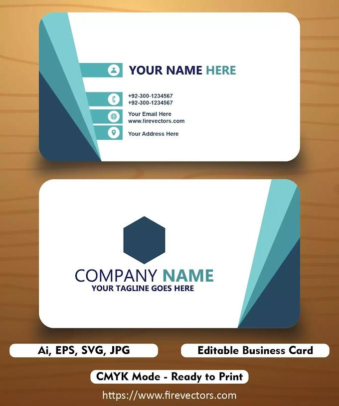 Business Card Template Ai - 07