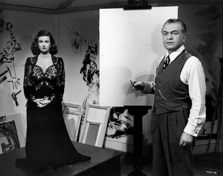 Perversidad (Scarlet Street) - 1945 - Película - Edward G. Robinson y Joan Bennett