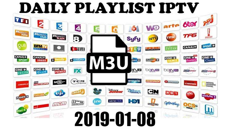 Free IPTV Links m3u playlist 2019-01-08