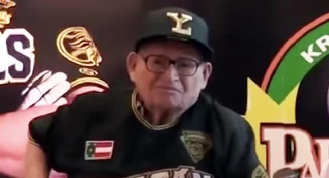Falleció el mítico pelotero Chucho Rejón, a los 95 años