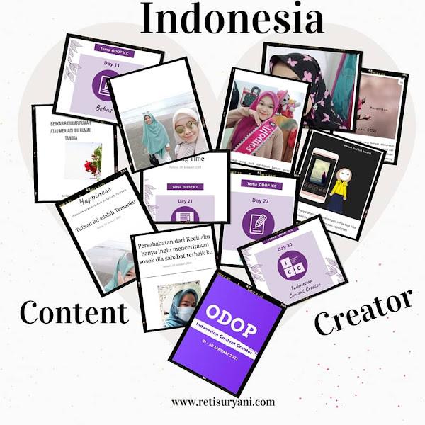 Finally 30 hari bercerita bersama Indonesia Content Creator