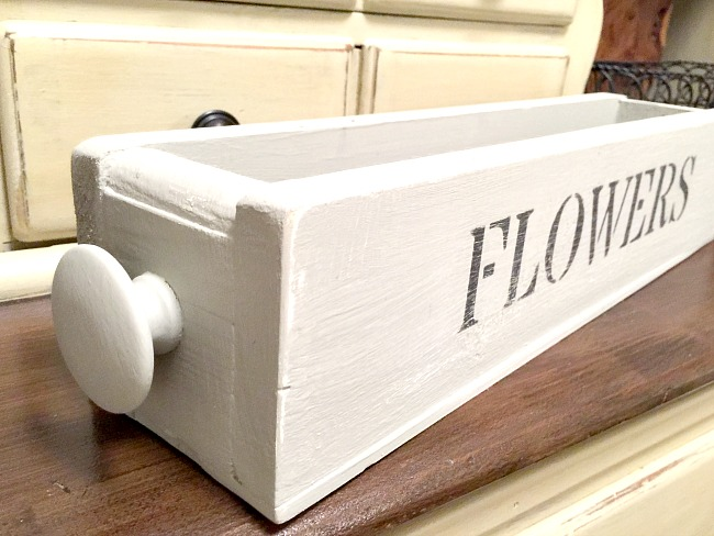 Build Your Own Fresh Flowers Wooden Crate