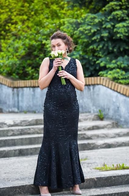 Sparkling Black Bonprix Maxi Dress