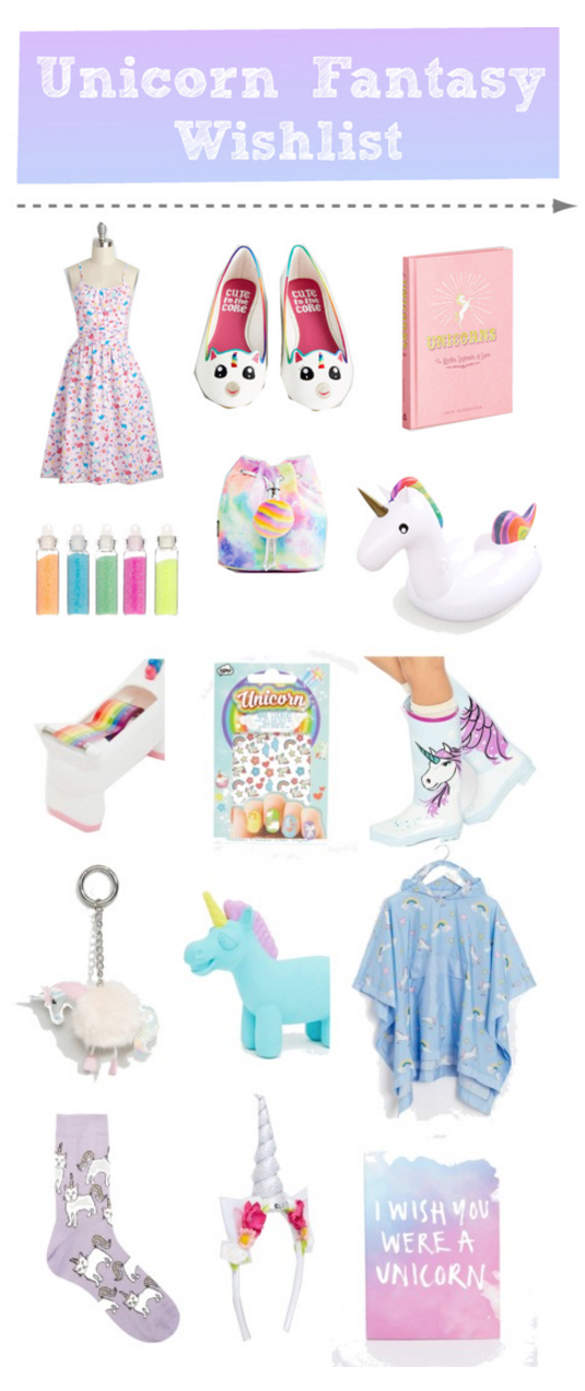 Adorable Unicorn Wishlist
