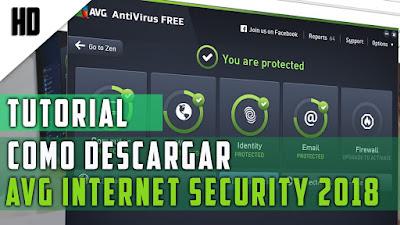 avg internet security 2018 full