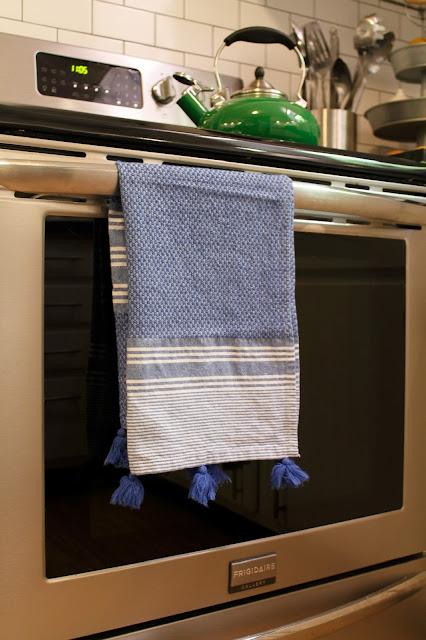 Tasseled Turkish Hand Towels