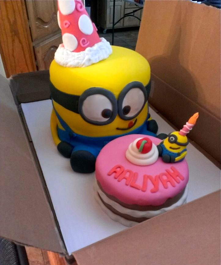 Despicable Me Cakes Uk