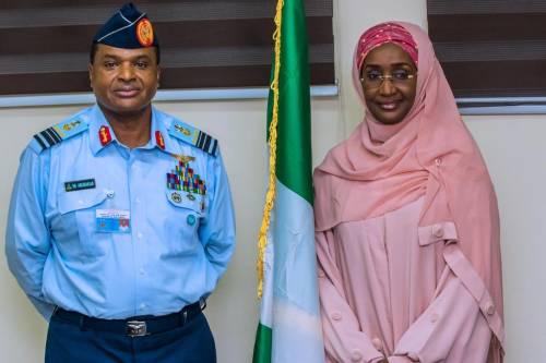 Chief Of Air Staff, Abubakar marries Humanitarian Affairs Minister, Farouq