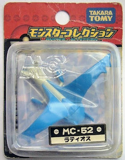 Latios figure Tomy Monster Collection MC series