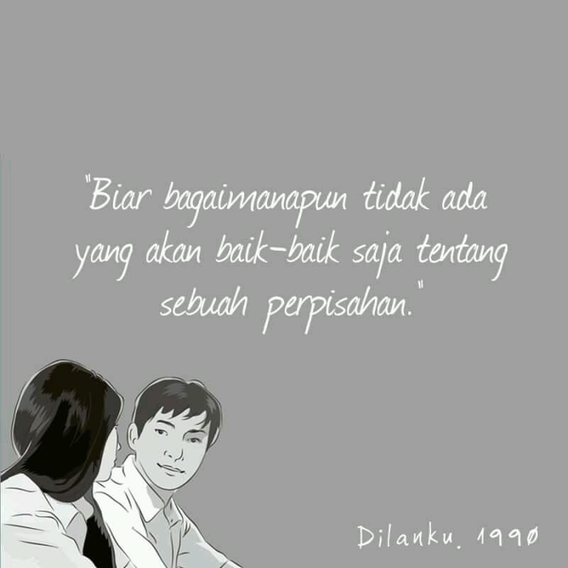 Quotes Novel Dilan Dan Milea